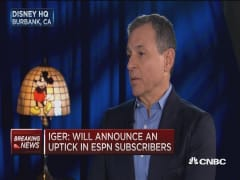 Disney's Iger: Very bullish on China and Disney in Shanghai