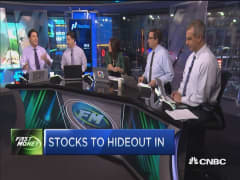 5 stocks to hideout in
