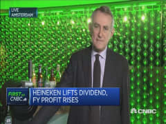 Heineken profits rise 16%