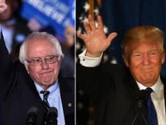 Sen. Bernie Sanders and Donald Trump win the New Hampshire primary on Feb. 9, 2016.