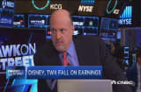 Why DIS & TWX are down: Cramer