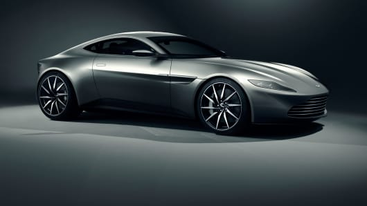 Aston Martin DB10 to be auctioned by Christie's in King Street, London.