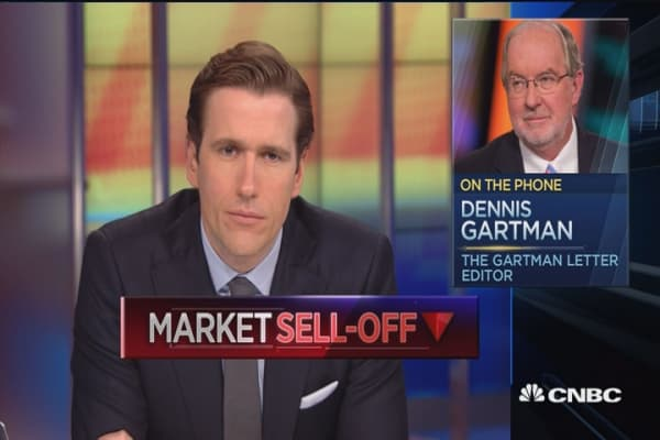 Gartman: Selling will continue