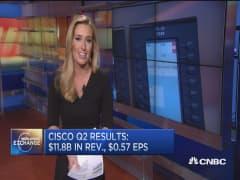 Cisco shows surprise Q2 strength, stock pops