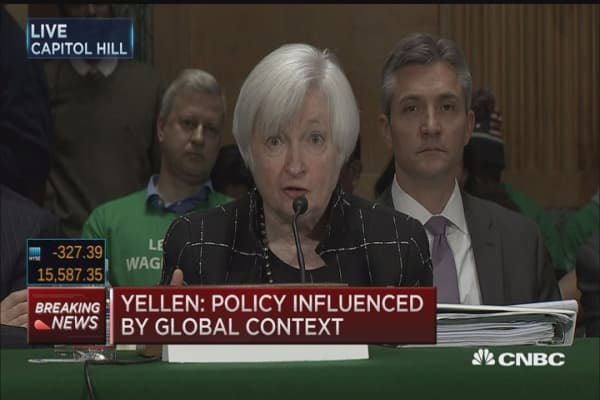 Yellen: Focused on risk from clearing houses