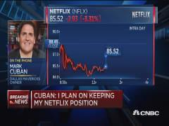 Cuban keeps Netflix, talks Twitter