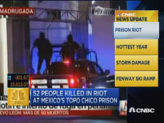 CNBC update: Deadly Mexican prison riot