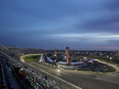 Daytona Speedway at night