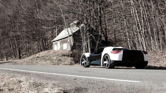 Tomahawk sports car.