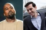 Kanye West and Martin Shkreli