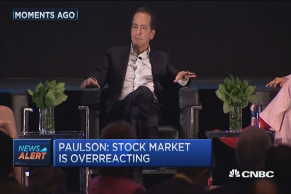 Paulson: Still value in this falling market