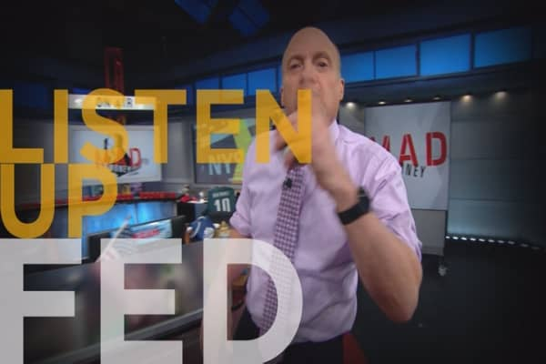 Cramer Remix: The Fed must change course