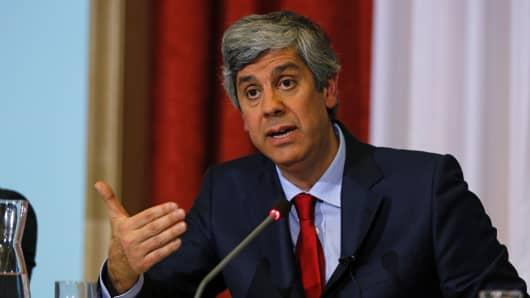 Portuguese Finance Minister Mario Centeno