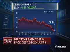 Deutsche Bank to buy back debt