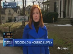 Record low housing supply and falling rates