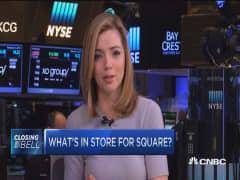 Visa's stake in Square
