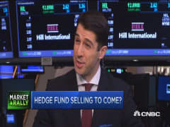 More hedge fund selling pressure ahead?