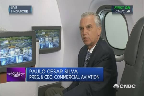 Embraer CEO