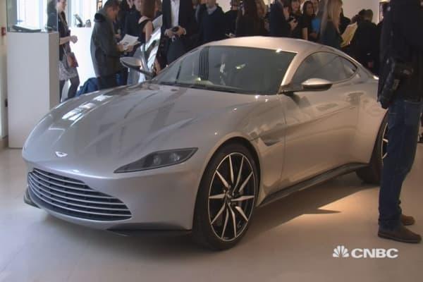 Want to buy James Bond's Aston Martin?