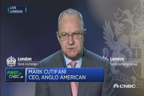 Too early to call the bottom: Anglo American CEO