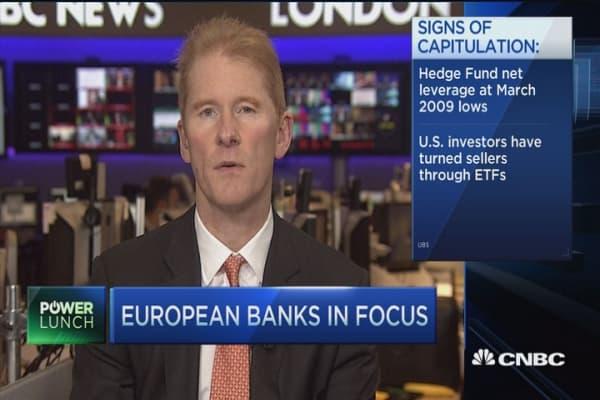 The European bank trade