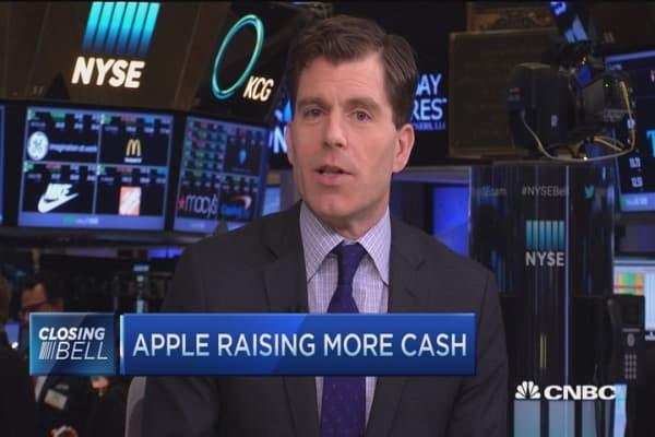 Apple announces corporate bond offering