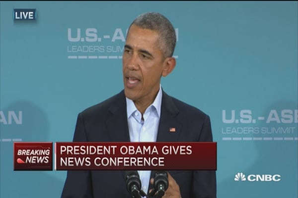 Pres. Obama: Steps taken to lower tensions in China