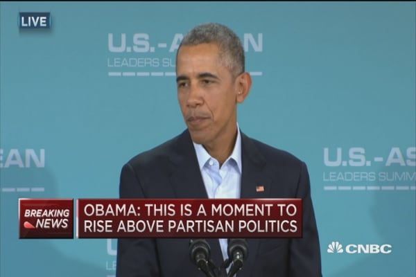 Pres. Obama: I expect Congress to do their job