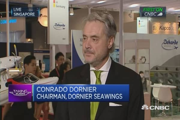 Dornier Seawings - luxury planes market