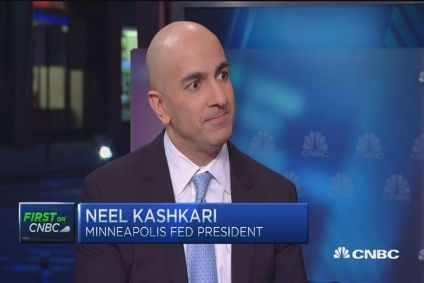 Financial stability Fed's 'strike zone': Neel Kashkari