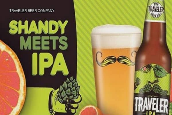 Traveler introduces the IPA Shandy