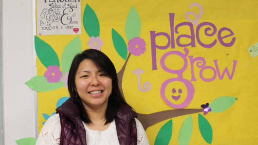 Mary Cheng, early childhood program director at the Little Star of Broome Street Early Childhood Center, said implementing universal pre-K at her school has been a happy but overwhelming experience.