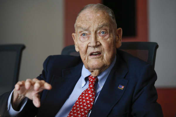 Jack Bogle, founder and retired CEO of The Vanguard Group.