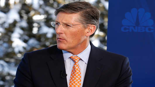 Michael Corbat, CEO of Citigroup, in an interview at the annual World Economic Forum in Davos, Switzerland, on January 21, 2016