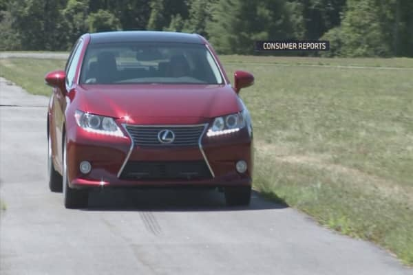 Lexus may be the most ticketed car
