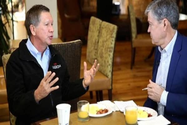 Kasich: Wall Street is the glue for our economic system