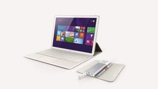 Huawei reveals MateBook tablet