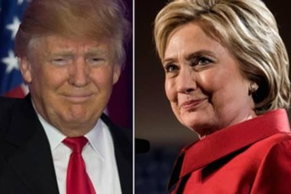 Trump, Clinton etch big wins