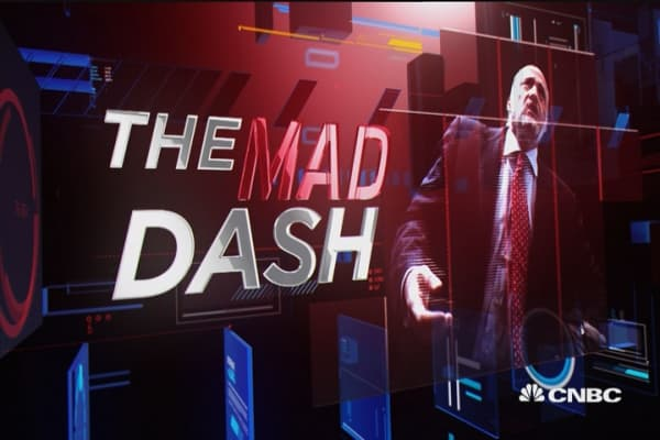 Cramer's Mad Dash: Rails 'have bottomed'