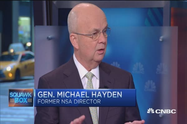 Defending Apple: Gen. Hayden