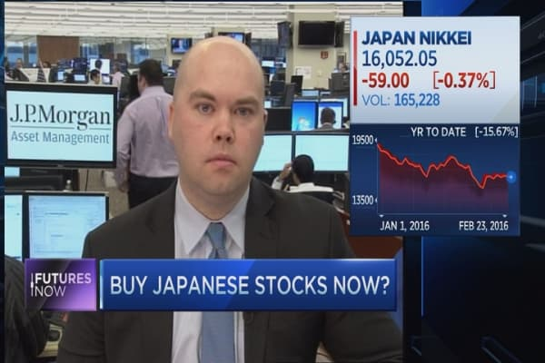 Japanese stocks are about to take off: JPMorgan