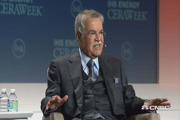 Naimi: No oil production cuts