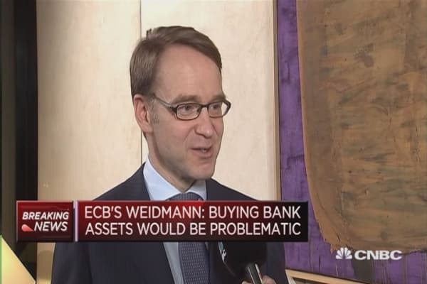 Central banks don't have miracle medicines: Weidmann