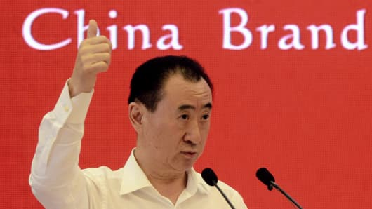 The richest man in China is Wang Jianlin, the Chairman of the Dalian Wanda Group, with $26 billion.