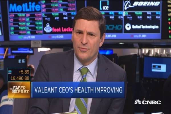 Faber Report: Will Valeant's Pearson return?