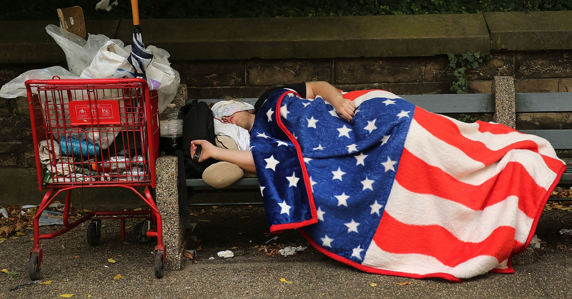 Universal income may help alleviate the 'US of anxiety'--or become a lesson in 'bad math'