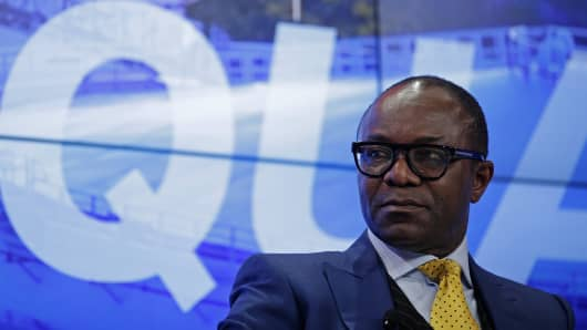 Emmanuel Ibe Kachikwu, Nigeria's petroleum and resources minister