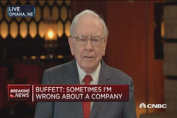 Buffett: Never sold a share of IBM
