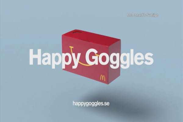 McDonald's turns Happy Meals into VR goggles