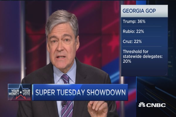 Republican race complicated on Super Tuesday